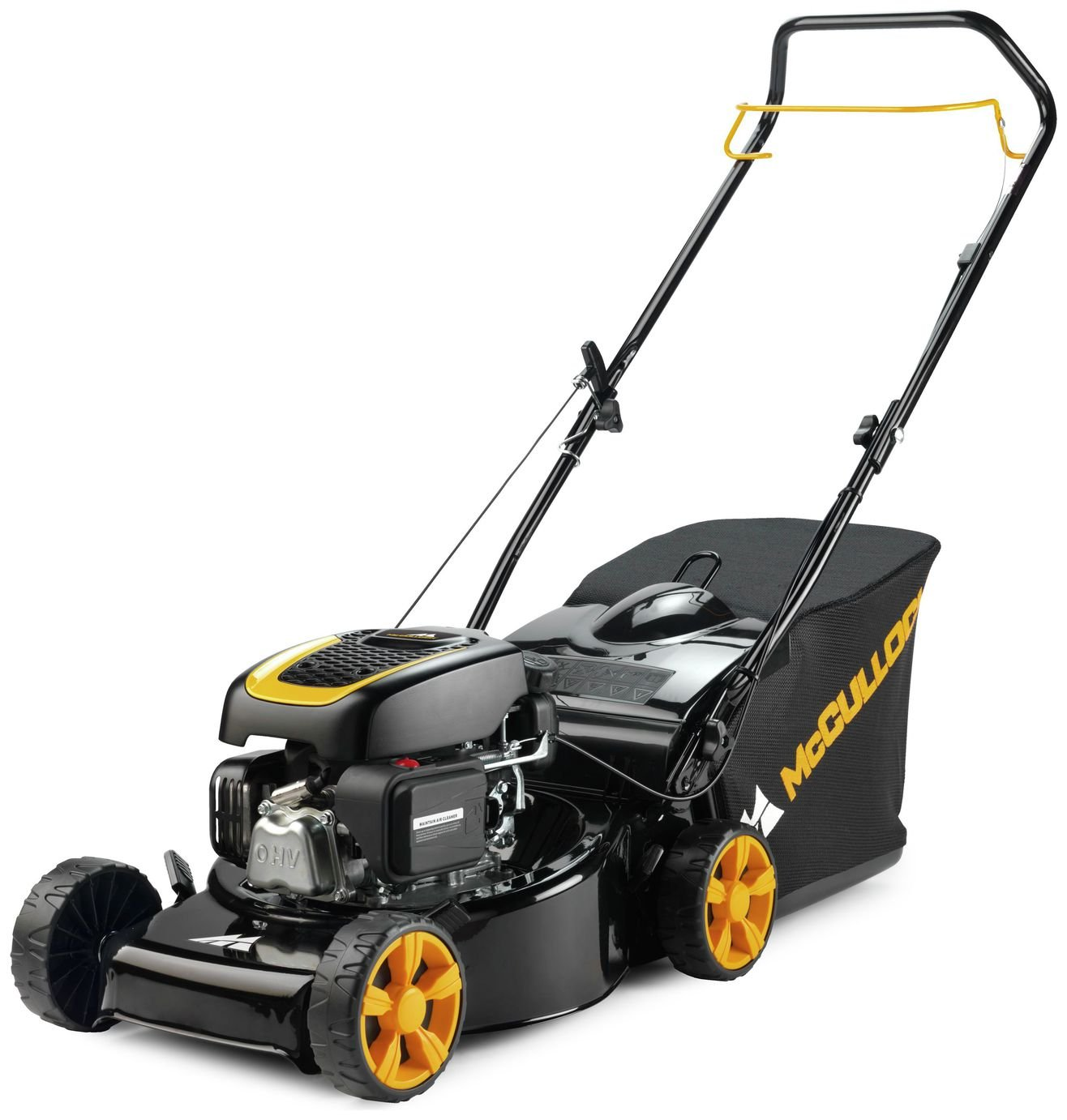 McCulloch M40-120 Classic Petrol Lawnmower review