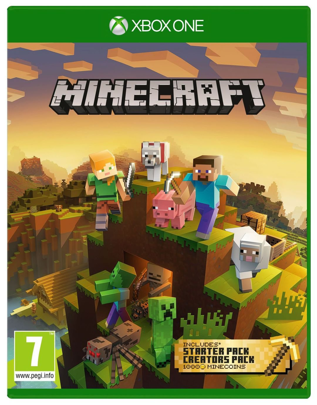 Minecraft Bedrock Master Collection Xbox One Game