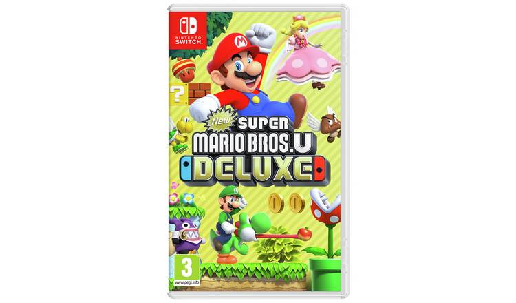 Buy Super Mario Bros U Deluxe Nintendo Switch Game | Nintendo Switch games  | Argos
