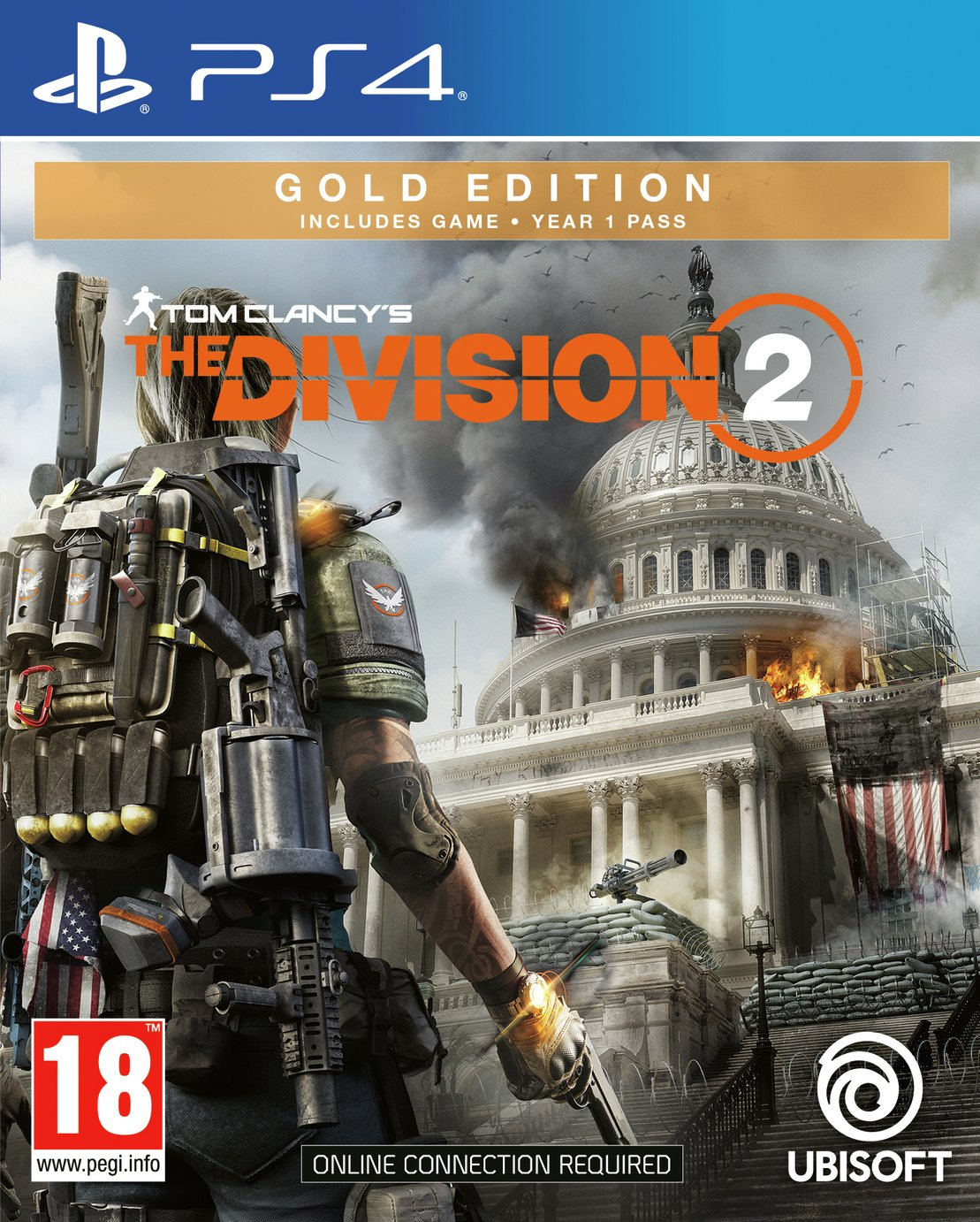 Tom Clancys The Division 2 Gold Edition PS4 Pre-Order Game