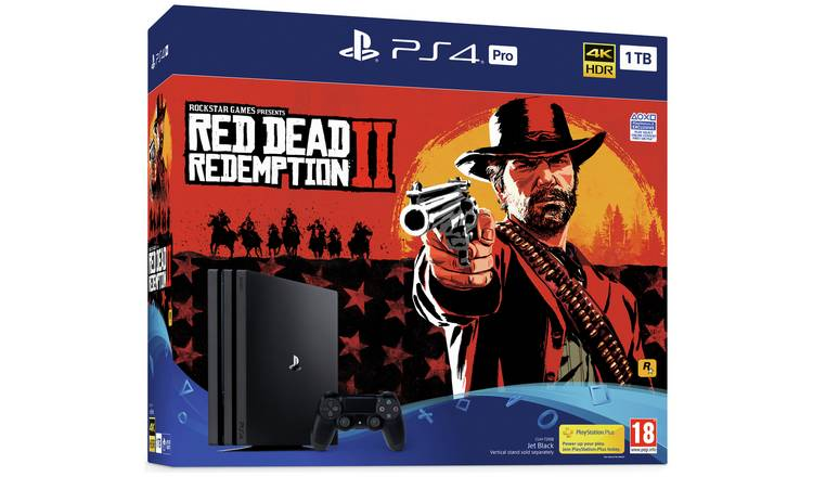 Buy Sony PS4 Pro 1TB Console and Red Dead Redemption 2 Bundle | PS4  consoles | Argos