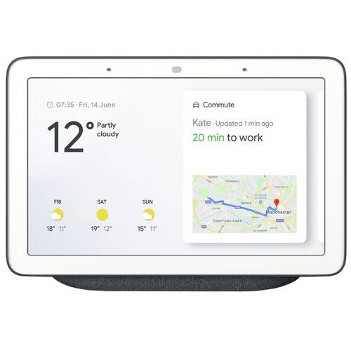 Buy Google Nest Hub - Charcoal   Smart speakers   Argos