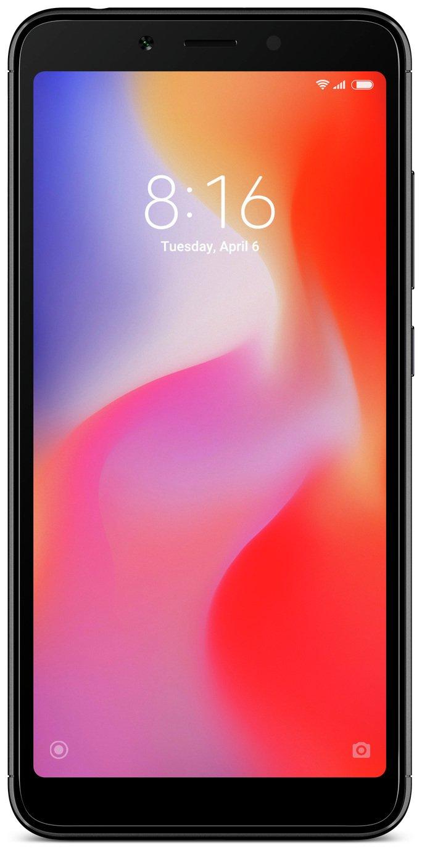 SIM Free Xiaomi Redmi 6 Mobile Phone - Black