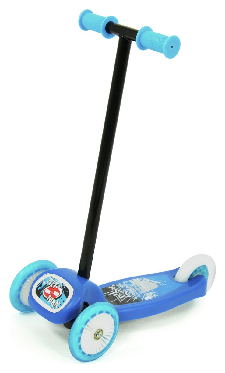 Chad Valley Tilt n Turn Scooter - Blue