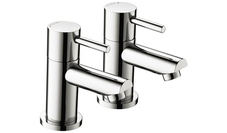 Bristan Blitz Basin Taps - Chrome