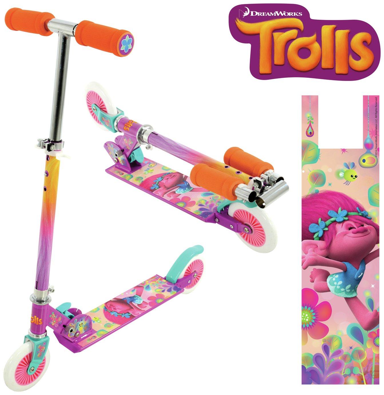 Trolls Folding Inline Scooter