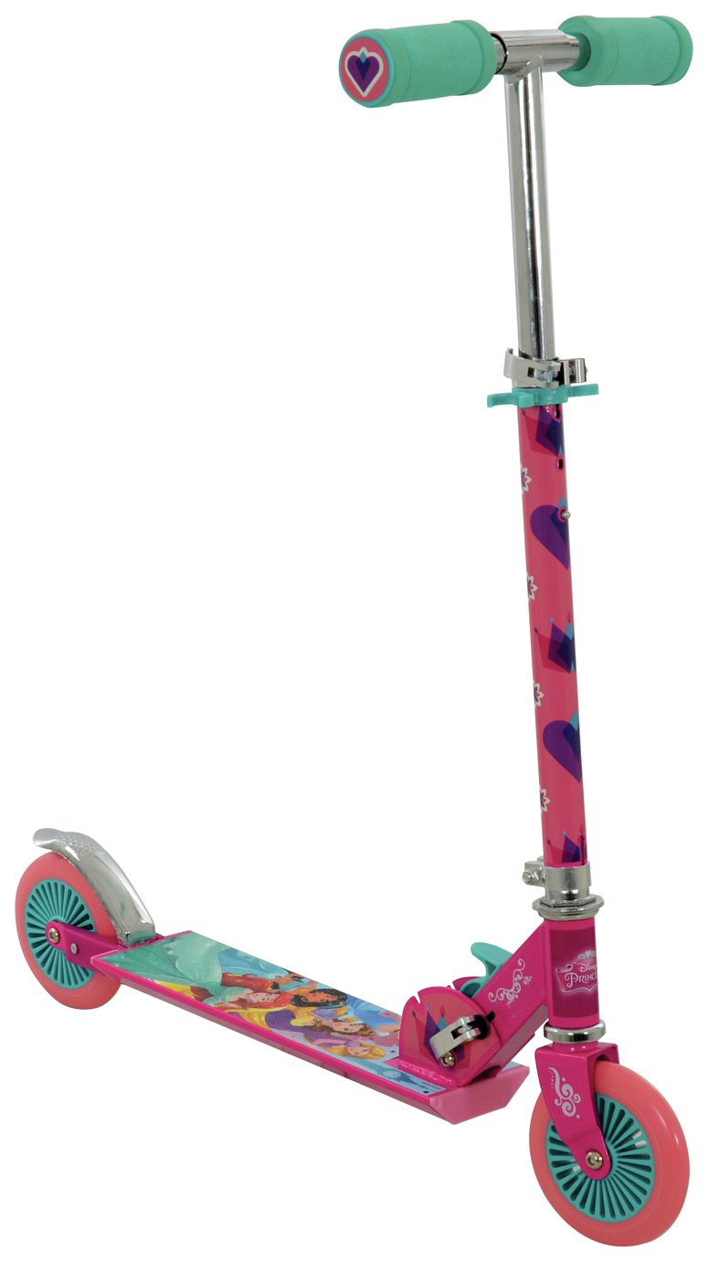 Disney Princess Folding Inline Scooter