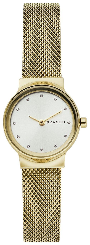Skagen Silver Dial Ladies Stainless Steel Watch