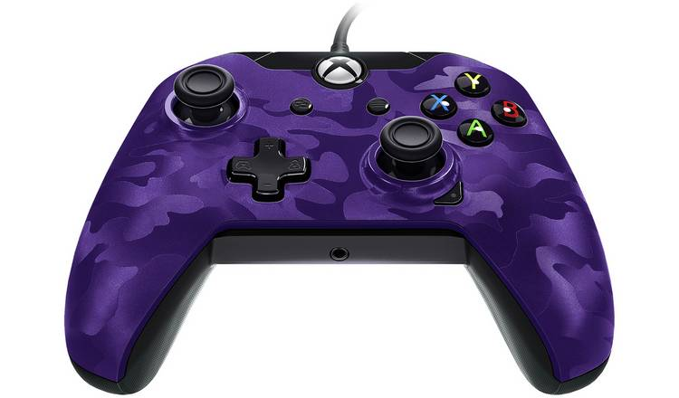Buy Licensed Xbox One Controller with Back Paddle - Purple Camo | Xbox One  controllers and steering wheels | Argos