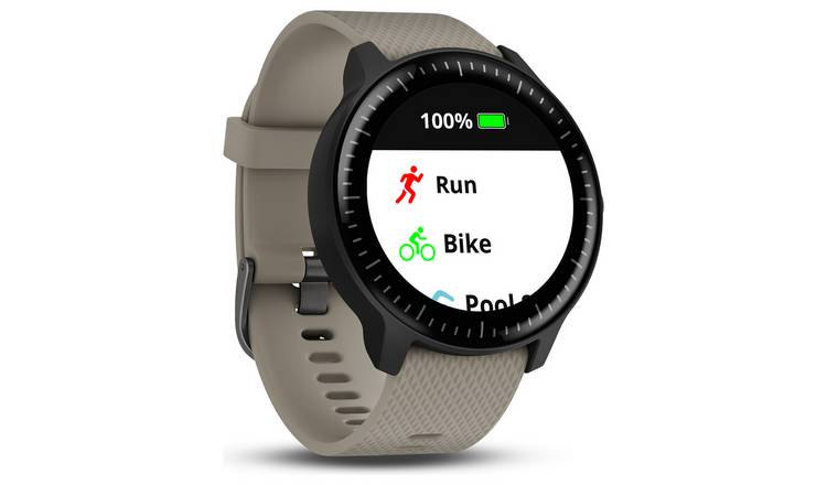 5ef13c8039d Buy Garmin Vivoactive 3 Music Smart Watch - Sandstone | Mobile ...