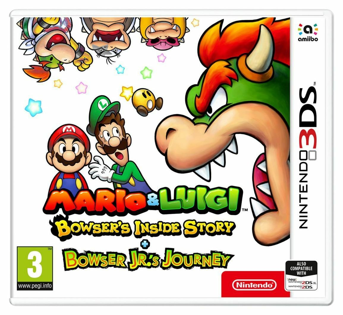 Bowsers Inside Story & Bowser Jrs Journey Nintendo 3DS Game