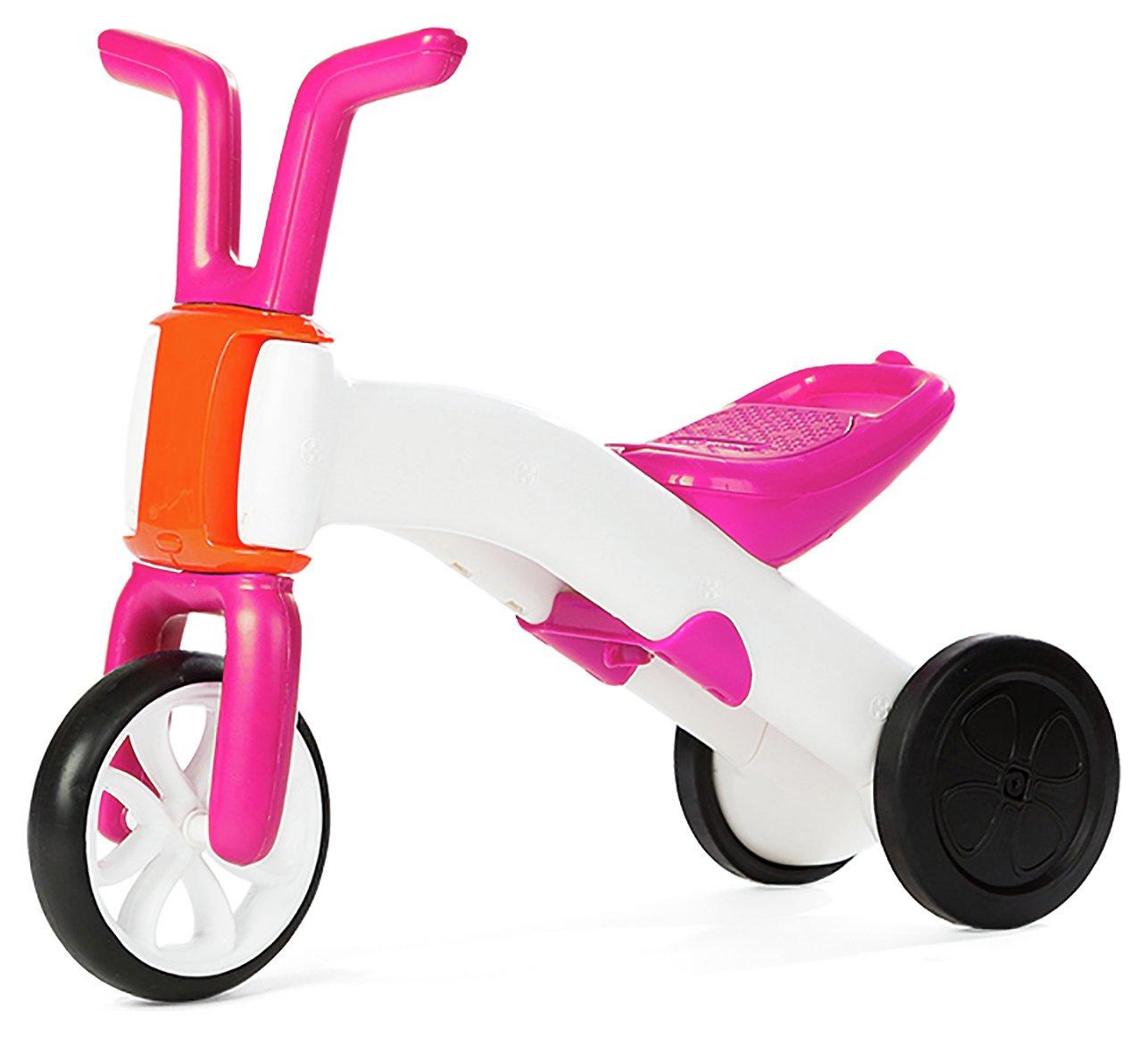 Chillafish Bunzi Pink 2 in 1 Gradual Balance Bike
