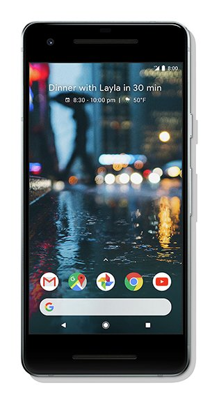 SIM Free Google Pixel 2 64GB Mobile Phone - White