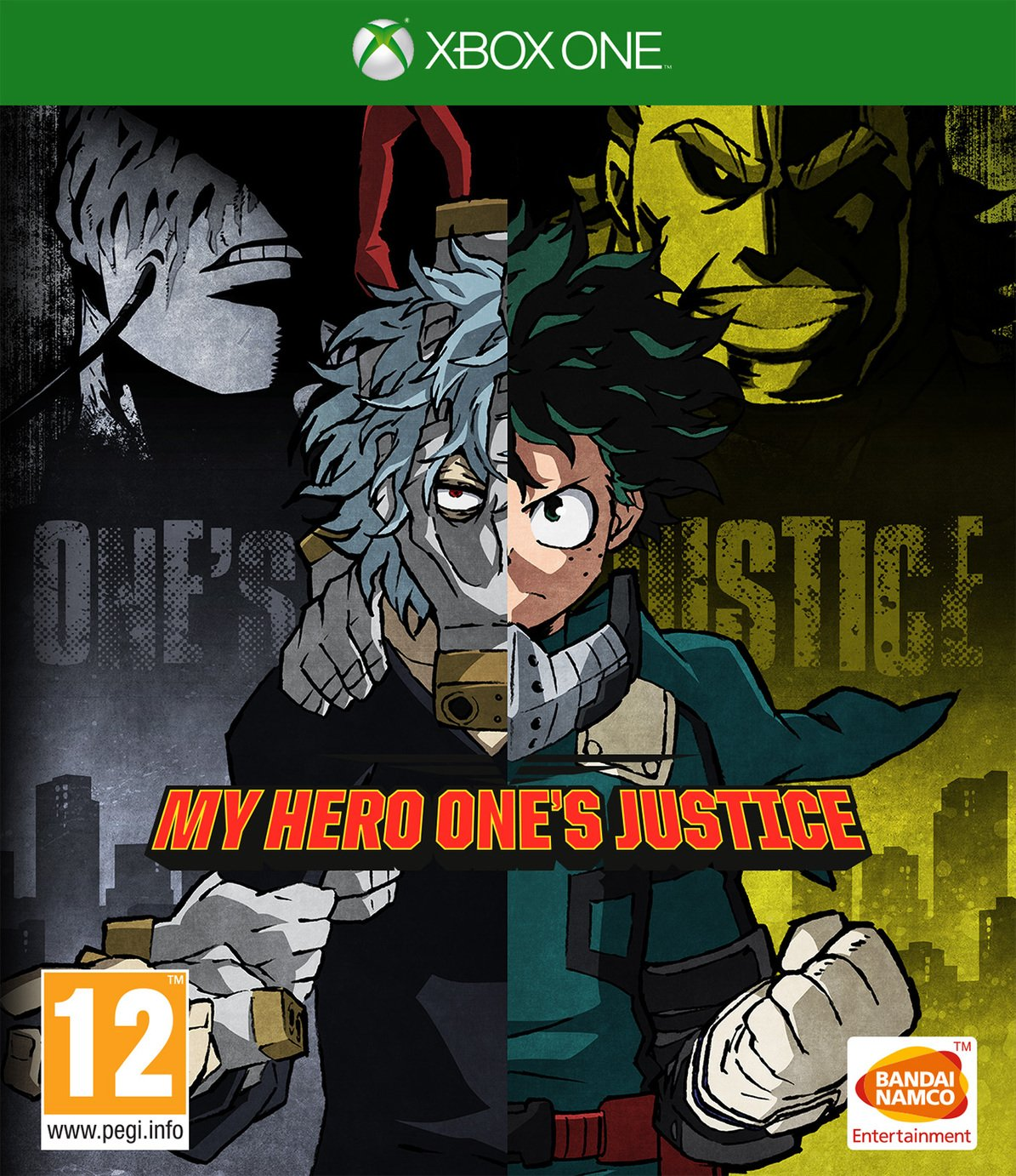 My Hero One's Justice Xbox One Game