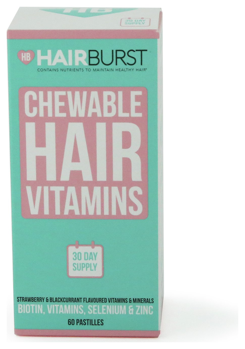 Hairburst Strawberry and Blackcurrant Gummies