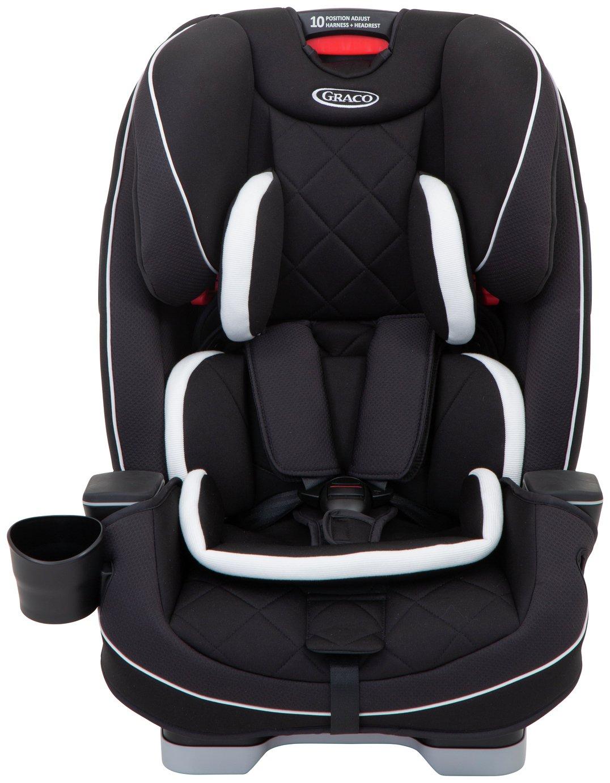 Graco Slimfit LX Group 0/1/ 2/ 3 Car Seat - Mid Black