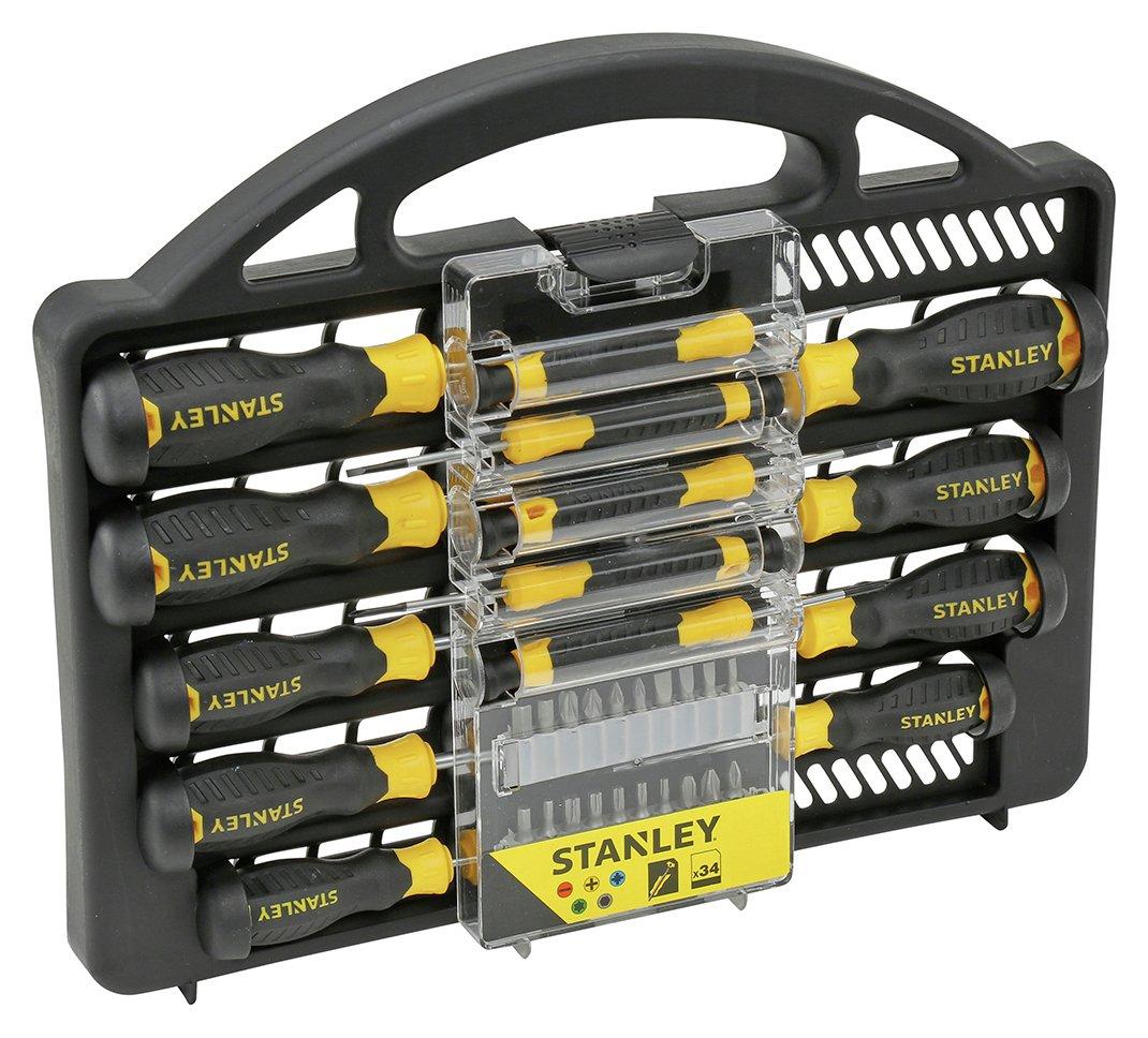 Stanley 34 Piece Screwdriver Set