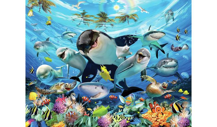 Walltastic Sea Adventure 8x10ft Wall Mural