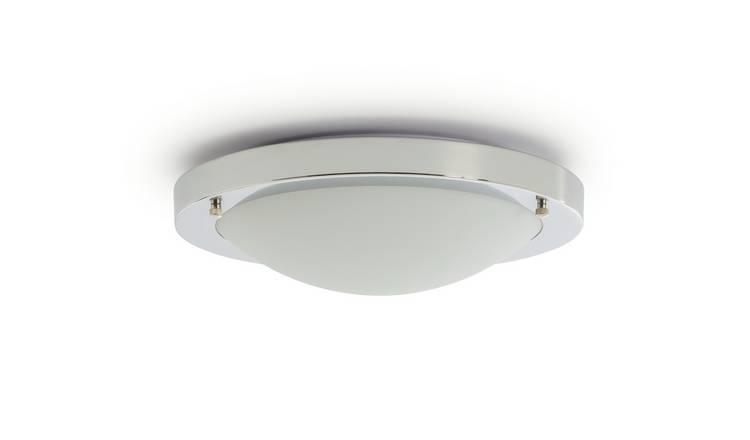 Buy Argos Home Bowdon Led Flush Bathroom Ceiling Light Bathroom Lights Argos