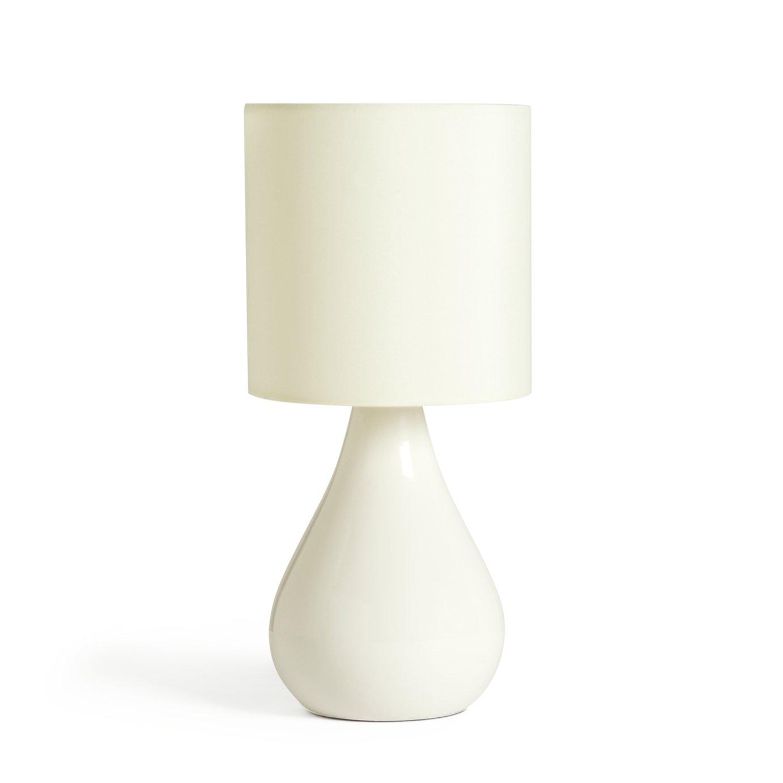Argos Home Ceramic Table Lamp - Cream