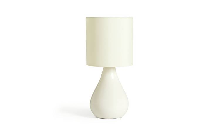 Argos Home Ceramic Table Lamp - Cream