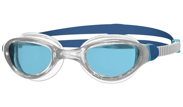 Zoggs Phantom 2.0 Swimming Goggles - White and Blue