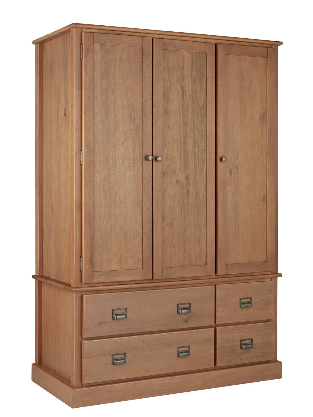 Argos Home Drury 3 Door 4 Drawer Wardrobe