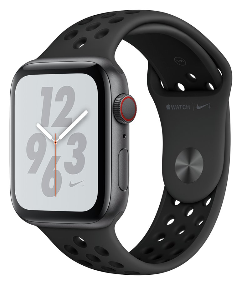 Apple Watch S4 Nike Cellular 44mm -Space Grey Alu/Black Band