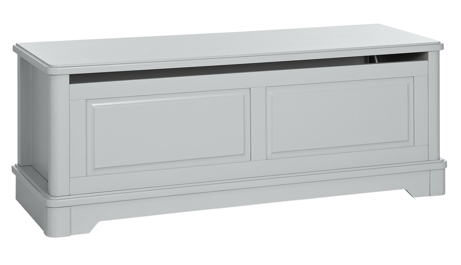 Argos Home Ashbourne Soft Grey Blanket Box