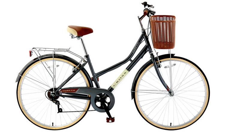 Buy Cross Lady Beth 27 5 inch Wheel Size Womens Hybrid Bike | Mens and  womens bikes | Argos