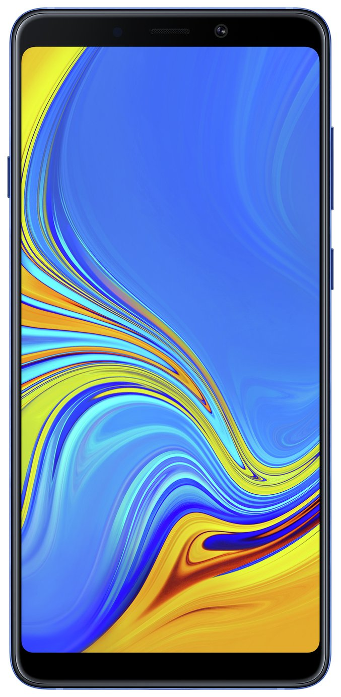 SIM Free Samsung Galaxy A9 128GB Mobile Phone - Blue