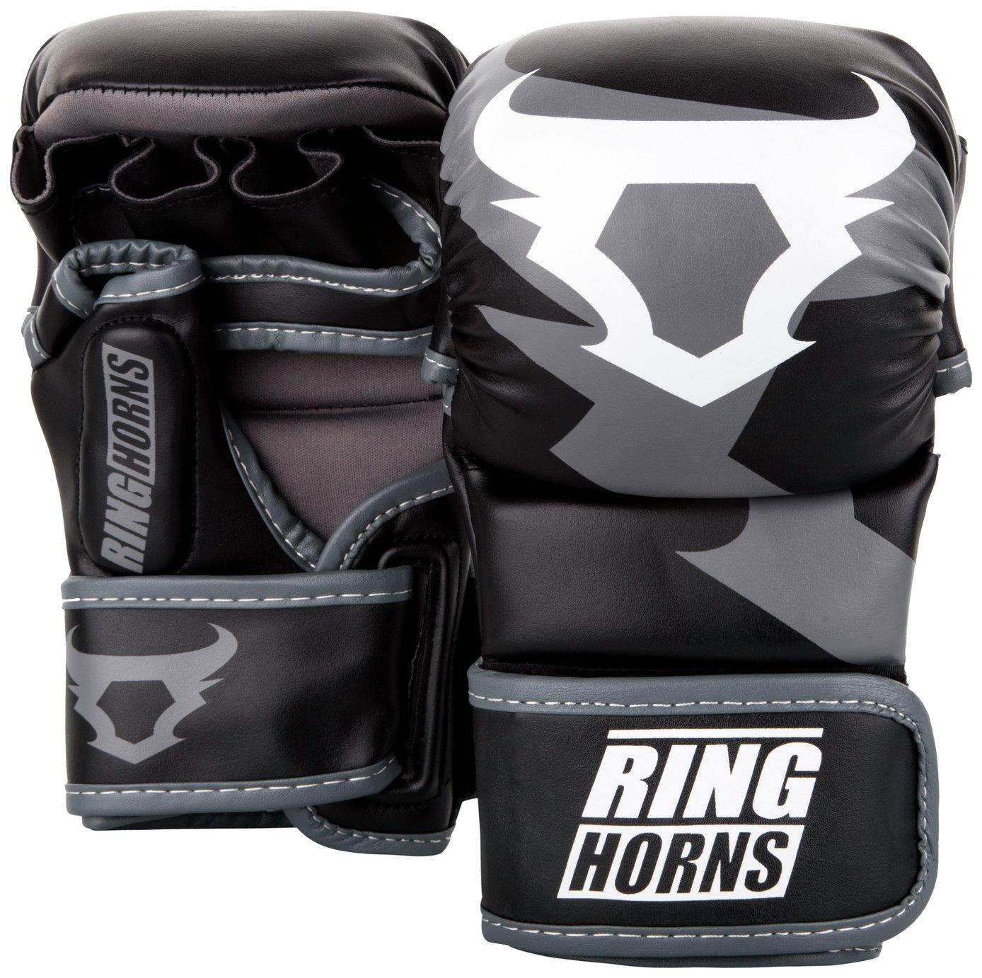 Venum Ringhorns Charger Black Sparring Boxing Gloves