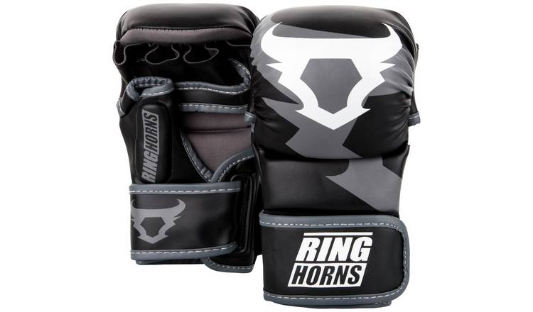 Venum Ringhorns Charger Black Sparring Boxing Gloves