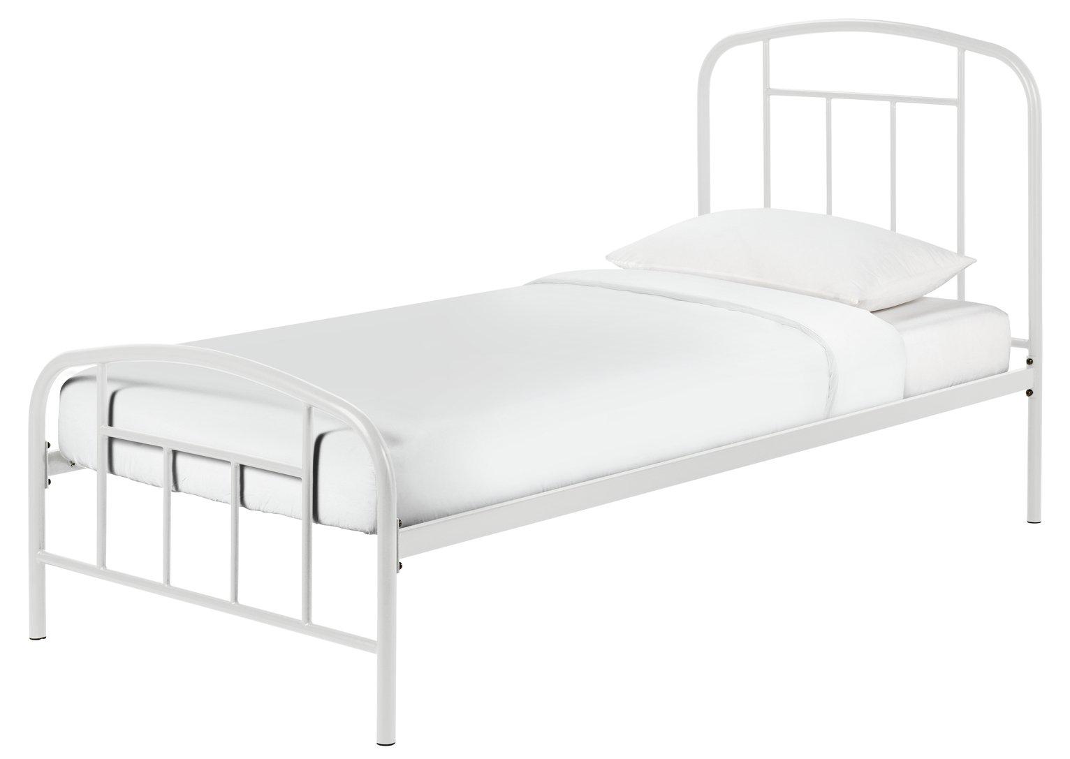 Argos Home Pippa Single Bed Frame - Grey