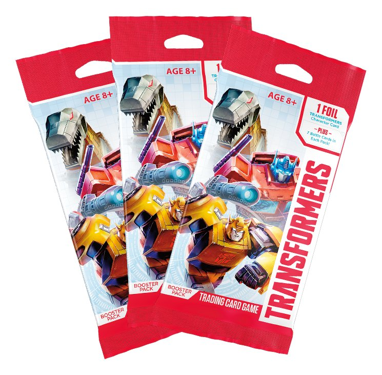 Transformers TCG Booster   3 Pack