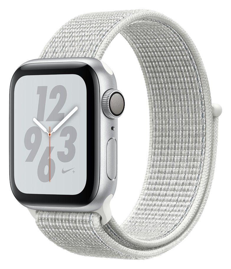 Apple Watch Nike S4 GPS 40mm - Silver / White Loop Band