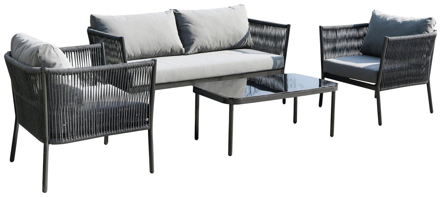 Lyss 4 Seater Conversation Set
