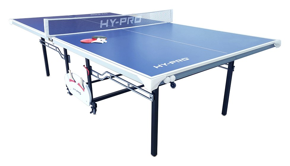 Hy-Pro 9ft Indoor and Outdoor Table Tennis Table