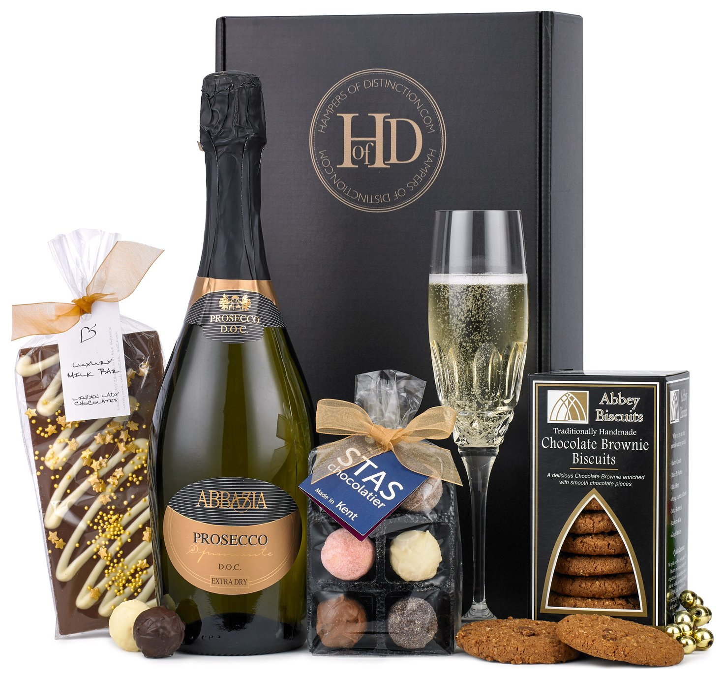 Lanchester Gifts Prosecco and Chocolates Hamper