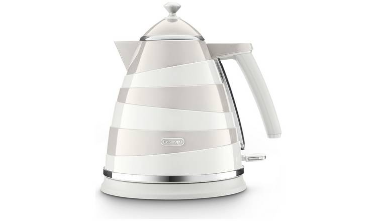 Buy Delonghi Kbac3001w Avvolta Kettle White Grey Kettles Argos