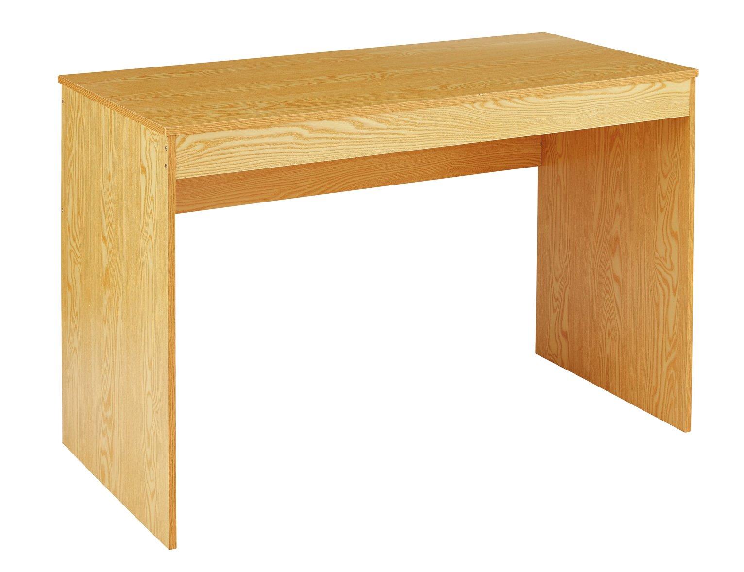 Argos Home Virginia Desk - Oak Effect