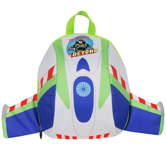 025514ea996 Details about Toy Story Buzz Lightyear Backpack Flying To School Or  Whizzing To A Sleepover UK