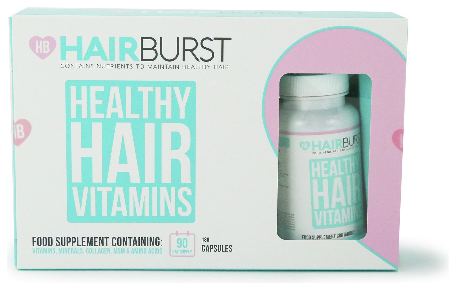 Hairburst 3 Months Supply Original Hair Vitiamns