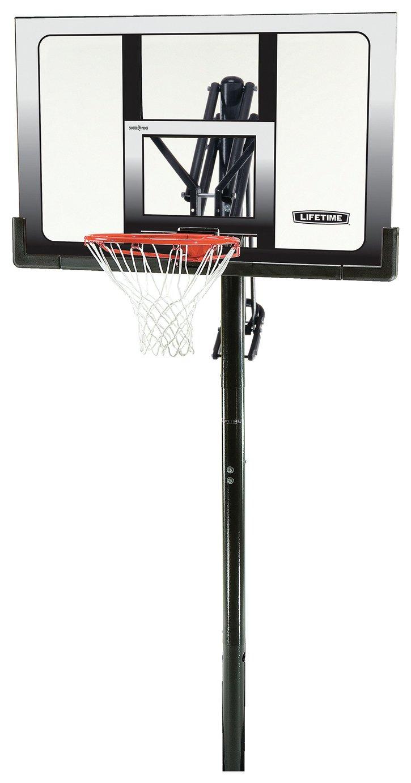 Lifetime Adjustable 52 Inch Basketball Hoop