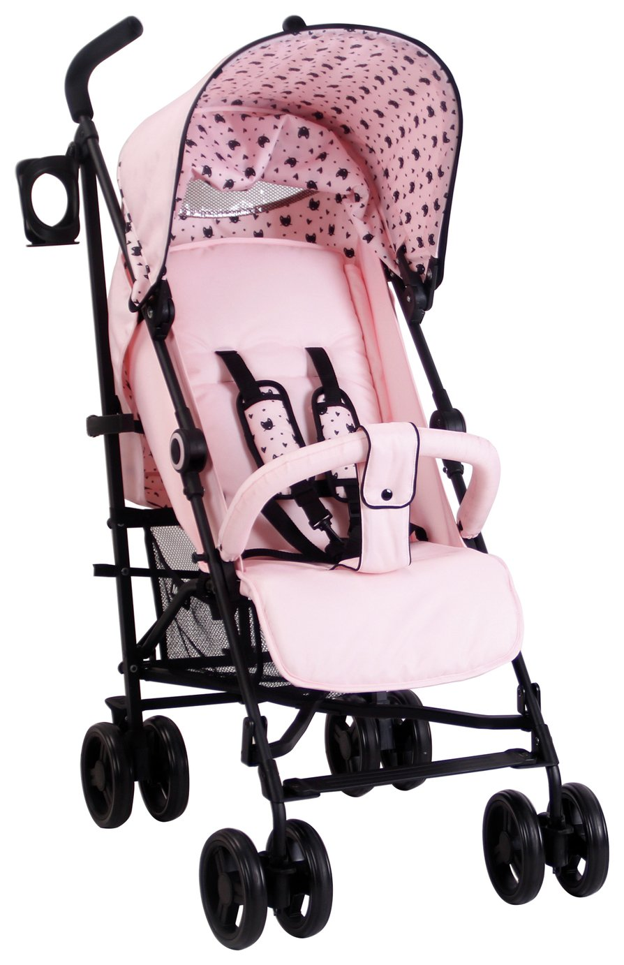 My Babiie Abbey Clancy MB02 Cats Stroller - Black
