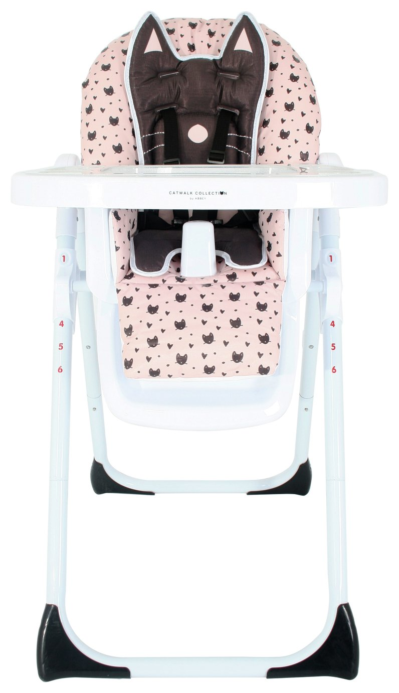 My Babiie Abbey Clancy Black Cats Highchair