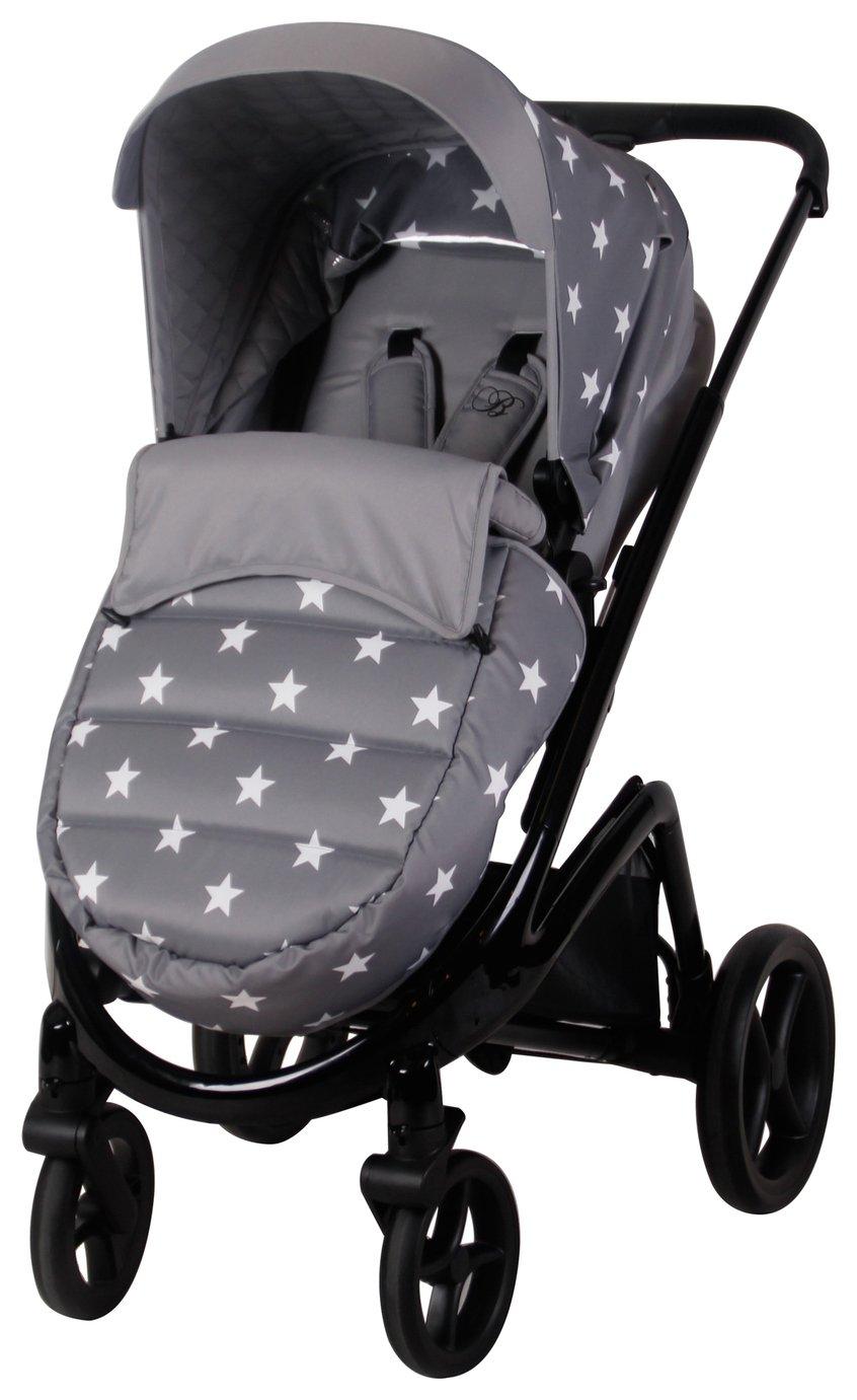 My Babiie MB300 Stars Pushchair - Grey