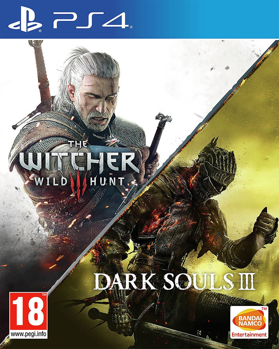 The Witcher 3 & Dark Souls 3 Compilation PS4 Game