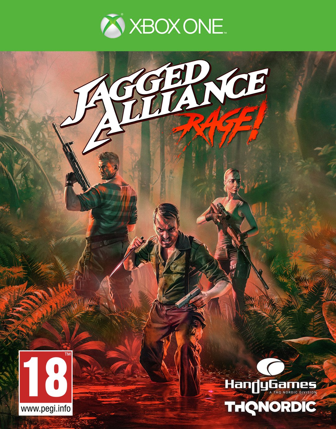 Jagged Alliance: Rage Xbox One Game