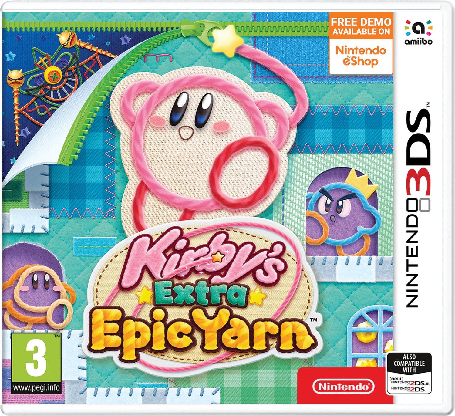 Kirby's Extra Epic Yarn Nintendo 3DS Pre-Order Game